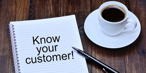 Know your customer on notebook